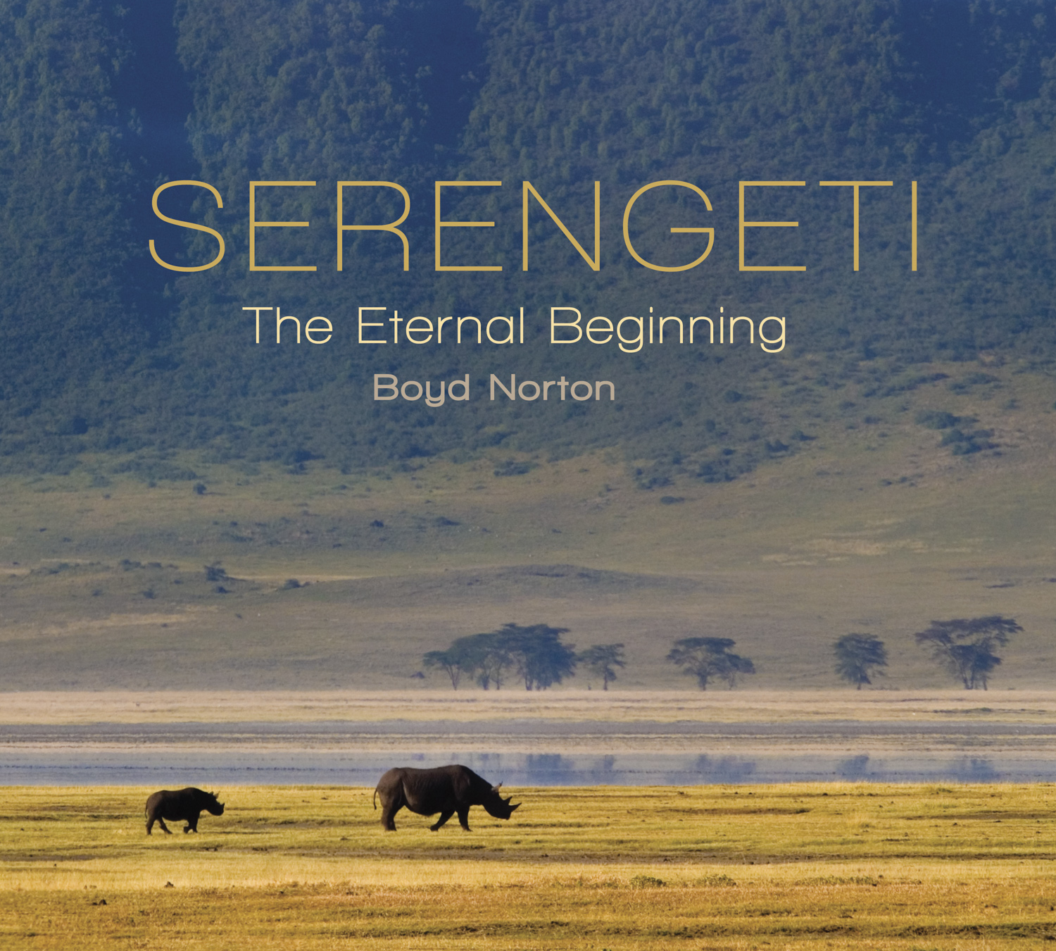 Serengeti book cover.